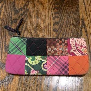 Vera Bradley - patchwork pouch